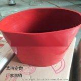 厂家直销红色硅胶管 搅拌站红色硅胶软连接