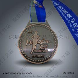 马拉松奖牌设计制作 体育奖牌制作