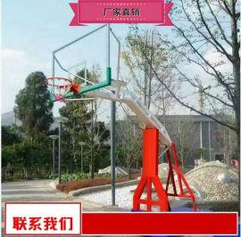 河北钢化玻璃籃球架厂家 钢化玻璃篮板籃球架厂家