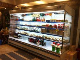 凌雪水果保鲜柜风幕柜超市蔬菜冷藏柜