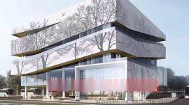 酒楼餐厅创意镂空铝单板【高级餐厅铝单板】天花吊顶