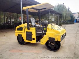 全液压3吨小型座驾双钢轮振动压路机适用范围广效率高