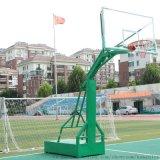 廣西政府 學校項目用到的綠色籃球架供應廠家
