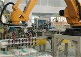 袋式雞飼料碼垛設備 機械手碼垛裝置定製生產