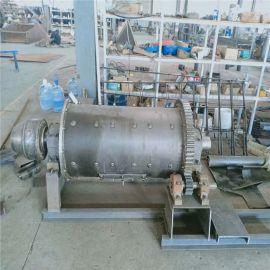 广州市棒磨式选矿球磨机干湿两用铁矿矿山机械小型滚筒式制沙机设备