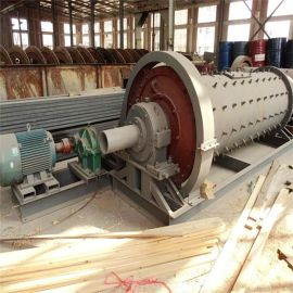 汕头市选矿卧式实验室筒形球磨机 小型溢流型球磨机高锰钢**