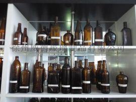 棕色玻璃瓶茶色玻璃瓶琥珀色玻璃瓶