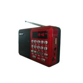 泳淇電子會銷禮品收音機 老年人收音機 插卡收音機 聽戲機