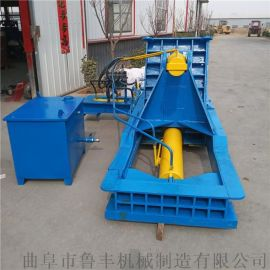 晋城120吨卧式不锈钢专用液压打包机参数