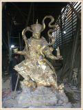 浙江铸铜佛像厂家、铜雕四大天王生产定做厂家