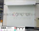 杭州西朗钢制卷帘门、大型抗风卷帘门项目