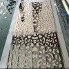 青島 裝飾門花不鏽鋼門花定制 玫瑰金鏡面門花加工