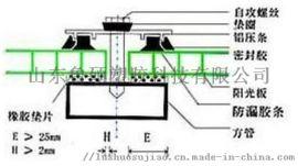 济宁工程透明双层pc阳光板温室