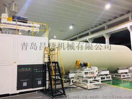 革命性中空壁缠绕管高速挤出生产线