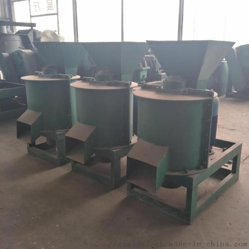 糞便垃圾蚯蚓糞粉碎設備 臥式單轉子鏈式粉碎機 大型移動鏈式粉碎機