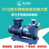ZCQ型不鏽鋼磁力自吸泵耐酸鹼磁力泵耐腐蝕磁力泵
