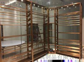 上海酒莊不鏽鋼酒架酒店酒架設計廠家