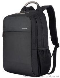 汉客出差旅行背包男士休闲双肩包女简约商务电脑包超大容量包包