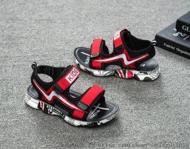 夏季韩版潮沙滩鞋中大童男孩童鞋