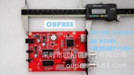 系统集成/2U机箱/SH504V变频版SDI转HDMI高清转换器