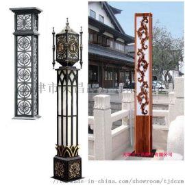 方形景观灯3米4米公园广场路灯高杆灯