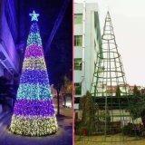 聖誕樹生產廠家 專注框架大型聖誕樹場景佈置10年
