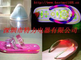 闪光拖鞋装饰灯 闪光led灯 鞋灯