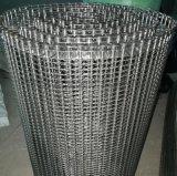 不锈钢网带 耐高温人字形网带 达克罗固化炉网带
