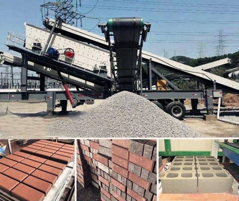 山东山石碎石机价格 轮胎式移动破碎站厂家 石子移动破碎机
