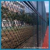 沃达篮球场围栏 优质球场勾花围网 篮球场围网施工