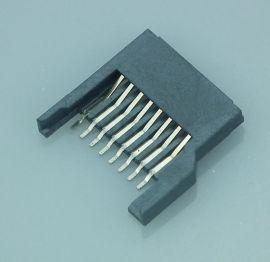 现货供应USB连接器TF简易全塑卡座镀金储存卡内存读卡器卡槽卡座