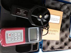 城陽手持式風速風量儀,  風速測量儀AM4836V