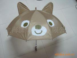 儿童雨伞 带耳朵卡通儿童伞 两只耳朵童伞卡通雨伞遮阳伞
