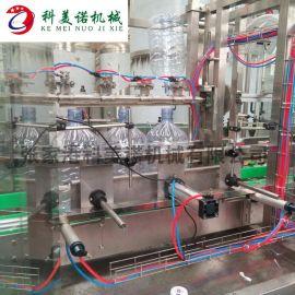 全自动直线式灌装机,直线式双头液体灌装机