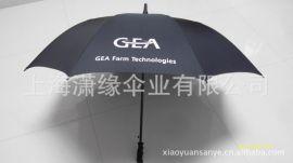 玻璃纤维伞架高尔夫伞、27寸纤维骨高尔夫伞广告伞 上海定做厂家
