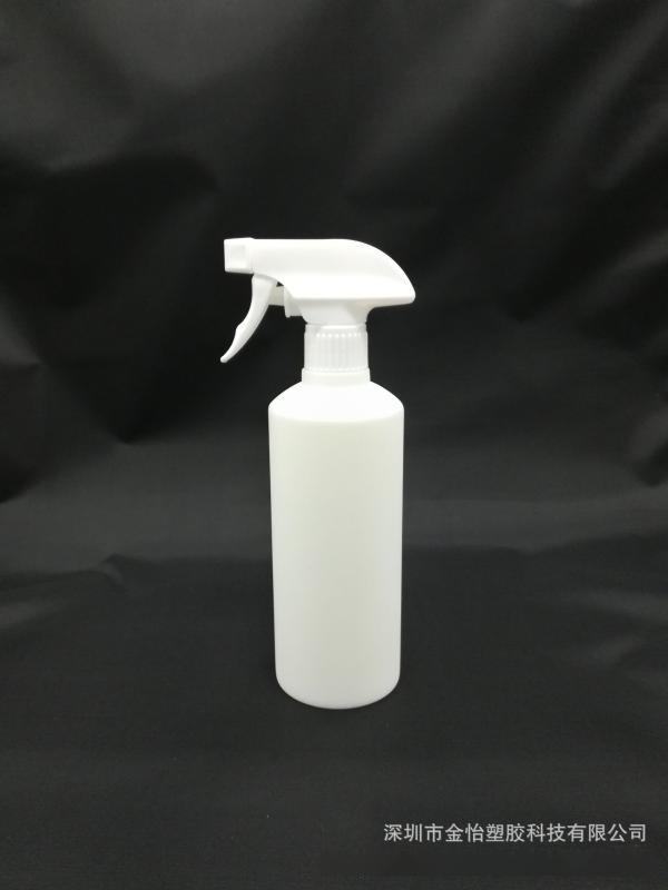 300ml瓶清洁瓶HDP白色瓶300毫升HDPE瓶洗发水瓶沐浴露瓶