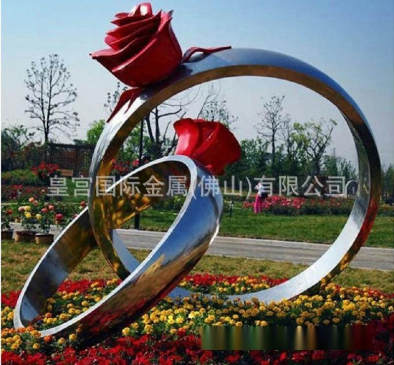不锈钢 铜雕雕像园林公园不锈钢工艺品 标志雕塑定制