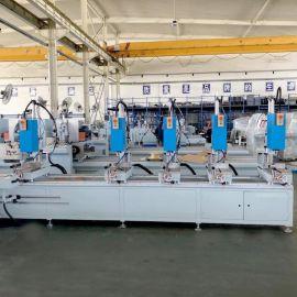 山東廠家直銷鋁型材多頭組合鑽牀 鋁型材組合鑽牀