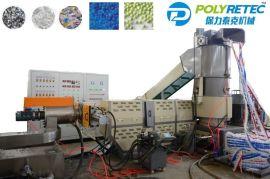 废旧塑料造粒机 编织袋造粒设备 全自动pp颗粒机械