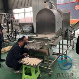 卡兹脆鸡排 鱼排上浆裹粉机诸城有为机械热销