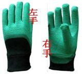 左手右手胶手套胶量多纯胶手感柔软舒服抗割刺防水防滑耐酸碱油