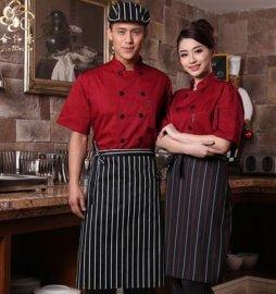 上海紅萬服飾酒店工作服 定做 加工