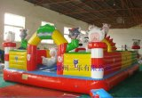 江蘇鎮江40平方米兒童充氣蹦蹦牀  幼兒園專用吹氣跳跳牀哪余有賣