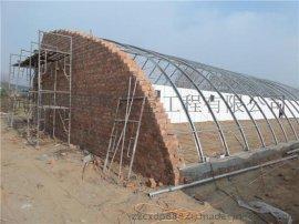 农用大棚搭建无支柱大棚建设大棚管架
