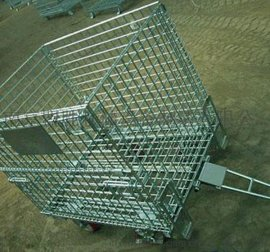 仓储设备制造厂家 仓储笼 蝴蝶笼 钢托盘 厂家直销 一件代发