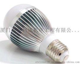 银色  15W  LED球泡灯