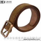 全进口牛反毛皮中性礼品腰带HD3004