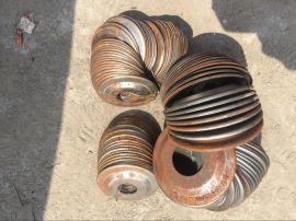 锅炉外包装封头管道接口压盖