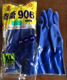 春蕾906藍色耐油 耐酸鹼耐磨浸塑手套