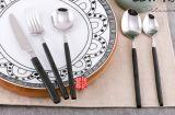 370黑金鏡光系列不鏽鋼西餐刀叉勺